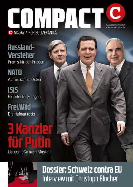 3 Kanzler für Putin